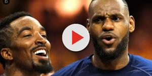 J.R. Smith nonchalantly disses LeBron James
