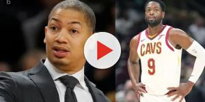 Cavaliers' Tyronn Lue, Dwyane Wade respond to Irving's comments about Cleveland