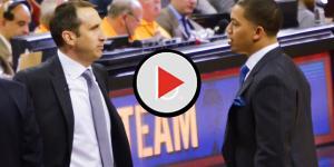 Coach Tyronn Lue talks about LeBron James' injury