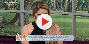 Namorada fez última homenagem a Marcelo Rezende e vídeo íntimo leva às lágrimas.