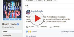 """Grande Fratello Vip: Daniele lascia la casa, """"Gravi motivi personali"""""""