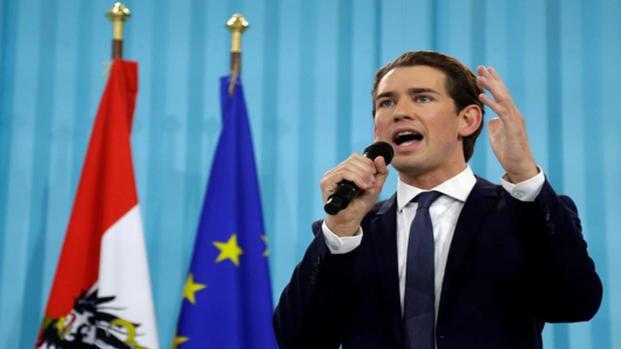 Kurz favorito in Austria fa tremare l'Europa
