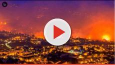 Portugal totalmente arrasado por el fuego