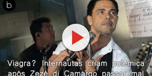 Viagra? Internautas criam polêmica após Zezé di Camargo passar em São Paulo