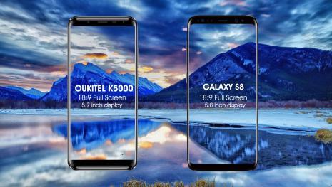Oukitel K5000: la alternativa de los teléfonos caros de alta gamma