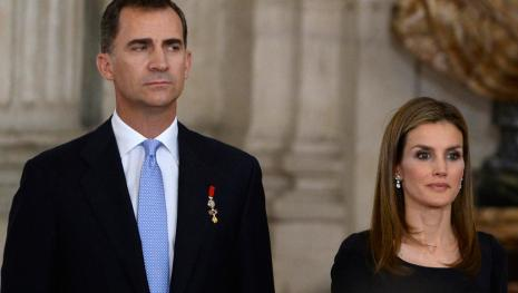 El terrorífico momento que puso en alerta a los reyes de España