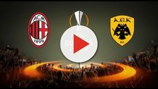 Il Milan affronta L'AEK Atene. Le probabili formazioni