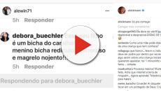 'Fala na cara': Filho de Ana Hickmann é chamado de 'bicha' e famosa se revolta