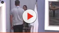 Vídeo: Outra vez em confusão.Marcos prensa na parede em 'A Fazenda'