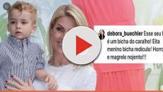 Ana Hickmann dá a melhor resposta à mulher que xingou seu filho