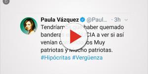 La grave amenaza de Paula Vázquez contra Inda podría llevarla al banquillo