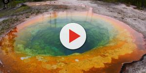 Ovini é filmado sobrevoando vulcão nos EUA