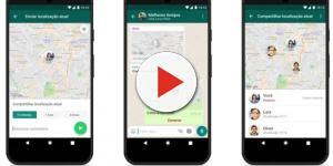 Nova função apresentada pelo WhatsApp mostra a seus contatos onde você está