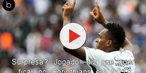 Surpresa? Jogador diz que quer ficar no Corinthians em 2018