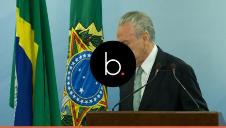 """Em carta a parlamentares, Temer diz que há uma """"conspiração"""" para derrubá-lo"""