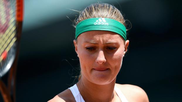 """Tennis : La triste """"decima"""" de Mladenovic"""