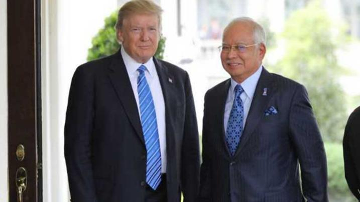 PM Najib Razak Visits Washington Amid US Dept of Justice Investigation.