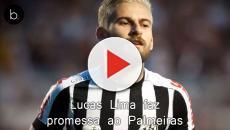 Lucas Lima faz promessa ao Palmeiras