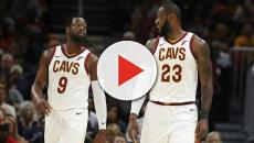 Dwyane Wade slept over at LeBron James' house when he joined Cleveland