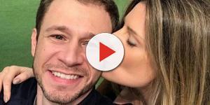 Esposa de Tiago Leifert fica doente e preocupa os fãs do casal