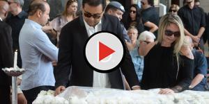 Assista: 'Viúva' de Rezende fala sobre suposto namoro às escondidas com Geraldo