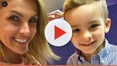 Ana Hickmann responde seguidora que xingou seu filho