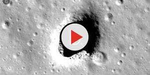 Scientists have speculated and measure a lava tube on the moon