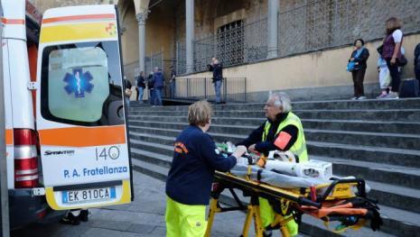 Firenze, turista spagnolo colpito da pezzo di capitello caduto da oltre 20 metri