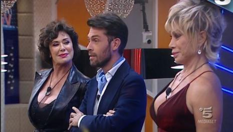 GF VIP: nuova lite furibonda all'interno della casa tra Luca e Raffaello