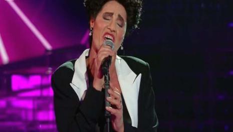 Tale e quale show, Minetti canta Mia Martini