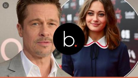Brad Pitt está com atriz considerada 'clone' de sua ex