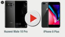 Video: Huawei Mate 10 Pro vs iPhone 8 Plus: scheda tecnica a confronto