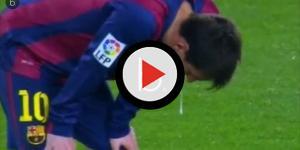Messi tomou comprimido durante jogo e pode ser preocupante