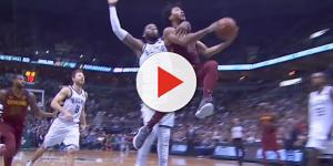 Greg Monroe served justice for Cavaliers point guard's ankle injury