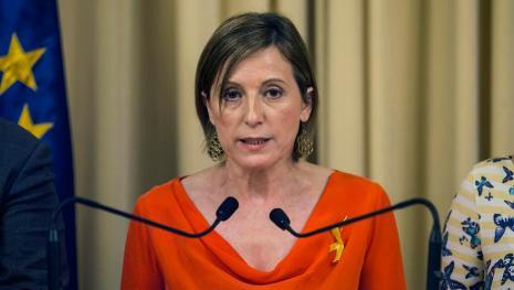 Carme Forcadell dispuesta a defender la soberanía