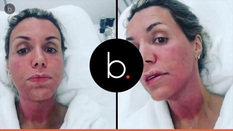 Renata Banhara tem recaída com vírus comendo cérebro e vai às lágrimas