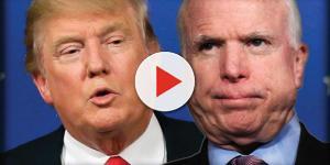 John McCain trolls Donald Trump for dodging Vietnam War over a 'bone spur'