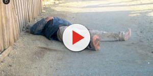Homem morre afogado dentro do balde
