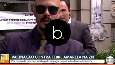 Apresentador fica transtornado com homem que invade telejornal ao vivo da Globo