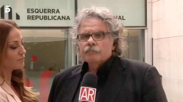 Joan Tardá queda sentenciado tras una cobarde declaración en  'El programa de AR'