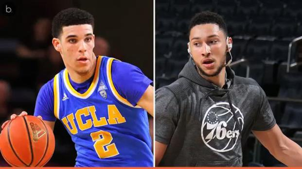 2017 NBA rookie watch: Ben Simmons vs. Lonzo Ball so far