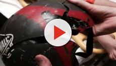 Fotos impressionantes que provam que o capacete pode salvar sua vida