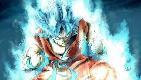 Goku le enseña la técnica de la fusión a Kale y Caulifla, y nace Kefura