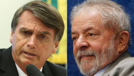 Pesquisas descobrem o motivo de Lula cair e Jair Bolsonaro crescer cada vez mais