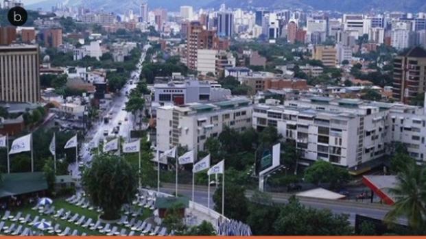 Caracas es el principal centro administrativo y financiero de Venezuela