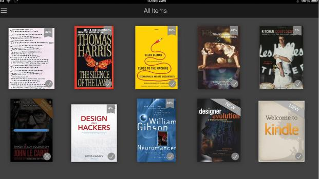 Amazon Updgrades Kindle app for handheld devices