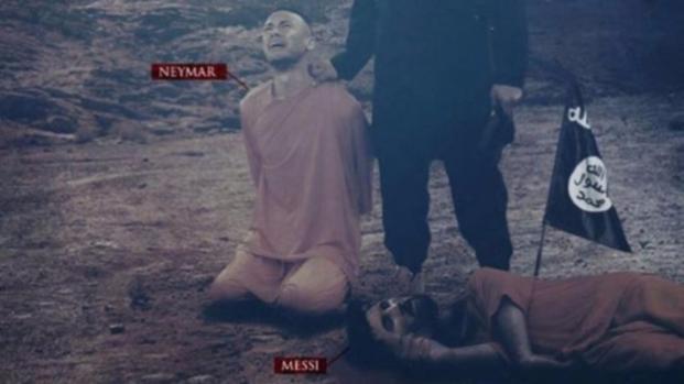 Vídeo: Jogadores Neymar e Messi vítimas do Estado Islâmico? confira