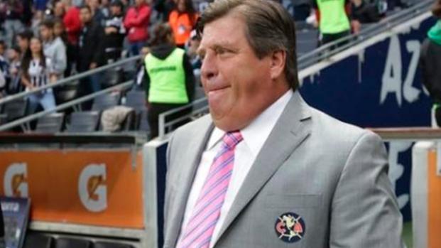 Miguel Herrera bastante molesto por la derrota ante Monterrey