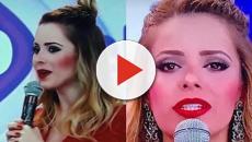 Assista: Cantora Sandy rebate internautas após aparecer com maquiagem forte