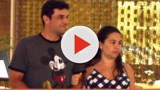 Assista: Após ser chamada de feia, esposa de Rodrigo Lombardi é defendida por pá